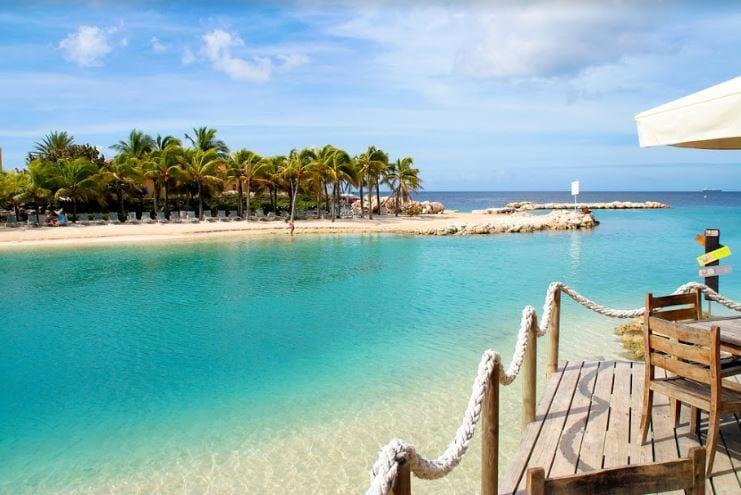 Mambo Beach in Curacao