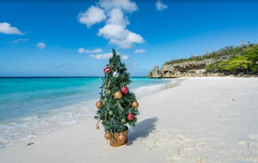 White Beach Christmas Curacao